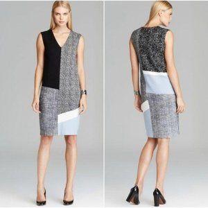 MaxMara Color Block Jersey Dress Angelo Sz IT 44